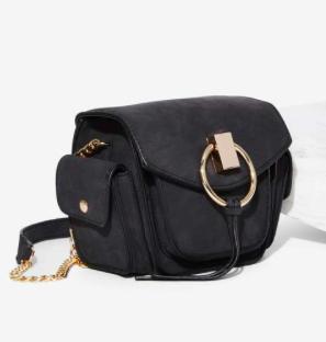 Freda Vegan Leather Crossbody Bag