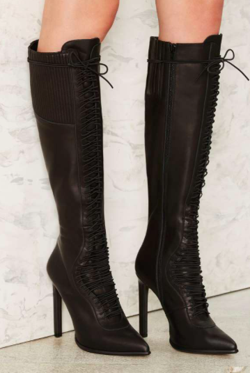 Jeffrey Campbell Quivera Leather Boot