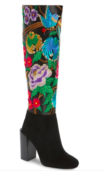 Jeffrey Campbell Fiori Knee High Boot