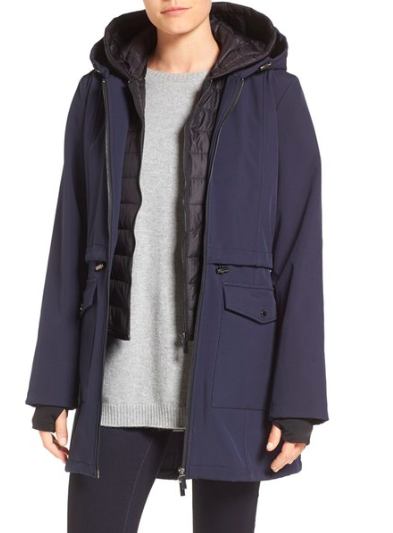 Three-Quarter Anorak with Removable Bib  FRENCH CONNECTION