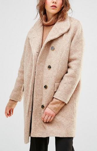 Samsoe & Samsoe Hoffman Teddybear Coat