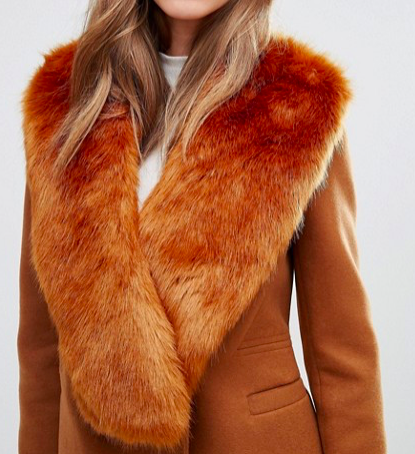 Missguided Faux Fur Stole