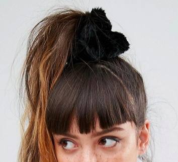 ASOS Faux Fur Hair Scrunchie