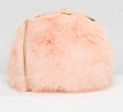 Dune Faux Fur Cross Body Bag