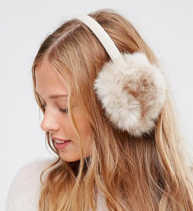 ASOS Natural Earmuffs