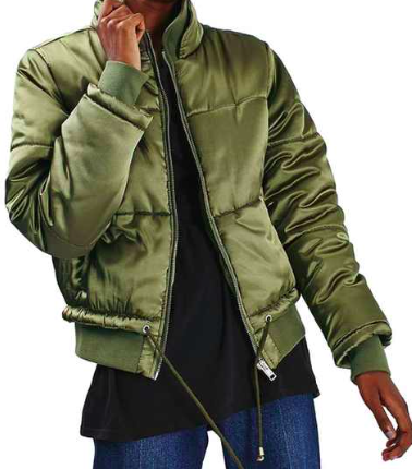 Carter Lurex Satin Jacket  TOPSHOP