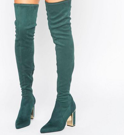 River Island Studio Soft Over The Knee Boot