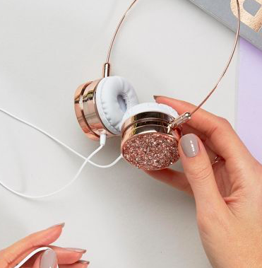 Skinnydip Crystal Collection Headphones