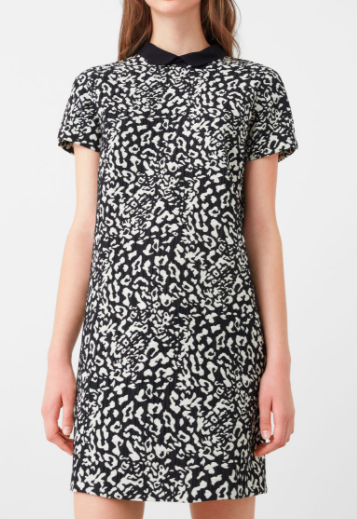 Mango Animal pattern dress