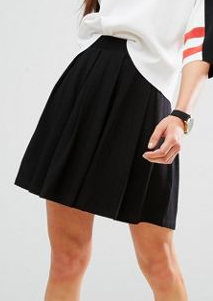 ASOS Mini Skirt with Box Pleats