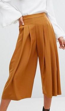 Y.A.S Tall Cama Pleated Full Culottes