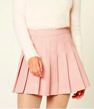 FOREVER 21 Pleated Mini Skirt
