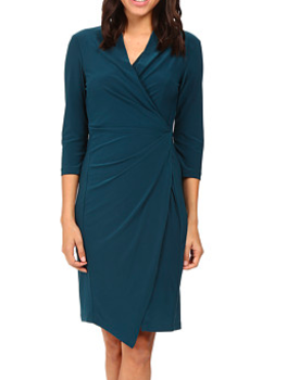 Christin Michaels Loretto Surplice Dress