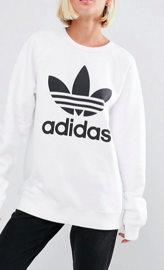 adidas Originals Sweatshirt With Trefoil Logo