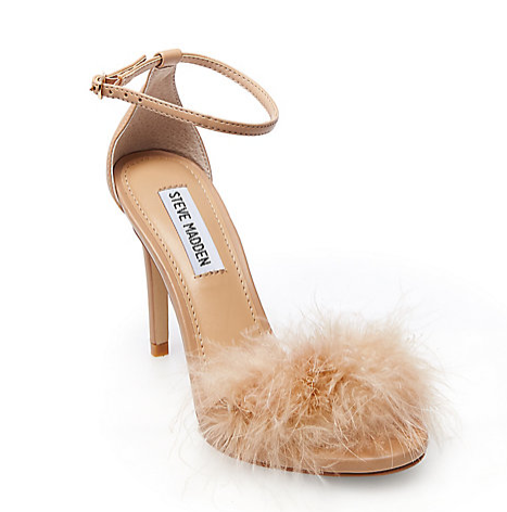Steve madden fuzzy sandals