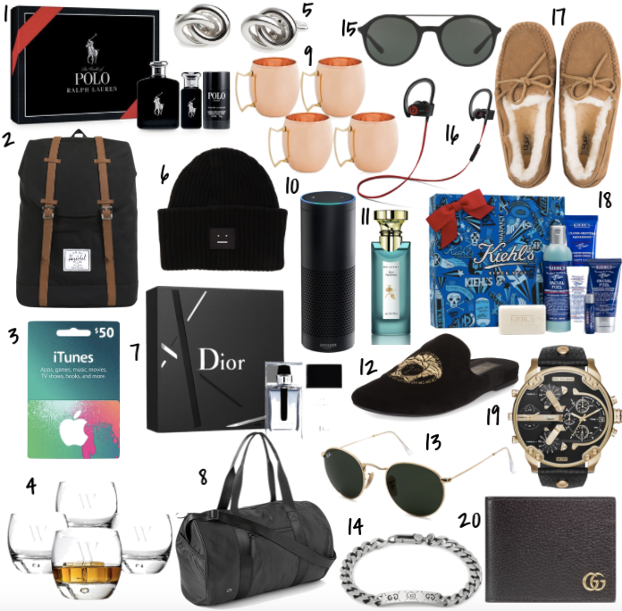 Valentine's Day Gifts for Him | Trufflesandtrends.com