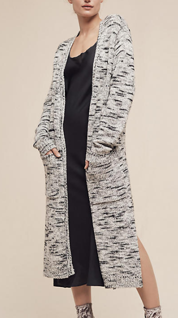 Midi Mayer Speckled Duster Cardigan