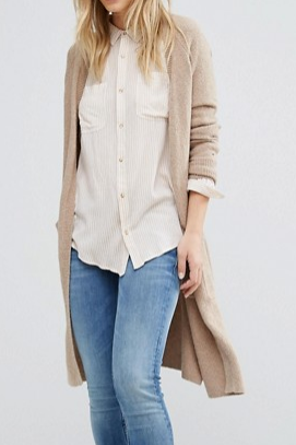 Hilfiger Denim Long Knit Cardigan