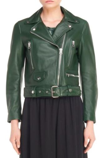 ACNE Studios Mock Leather Moto Jacket