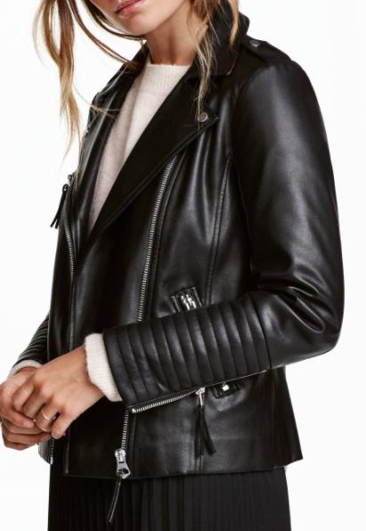HM biker jacket