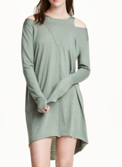 HM Open-shoulder Dress