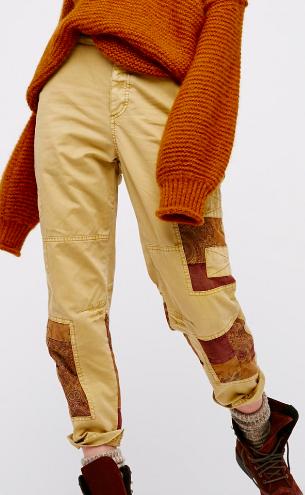 Set Me Free Embellished Cargo Pants
