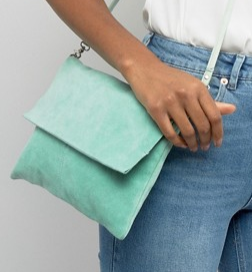 ASOS Unlined Soft Leather Cross Body Bag With Detachable Strap