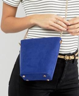 New Look Chain Suedette Bucket Bag