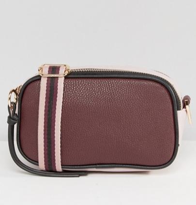 New Look Color Block Strap Camera Bag