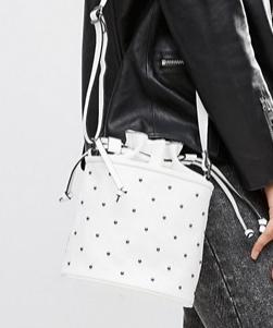 ASOS Studded Pouch Cross Body Bag
