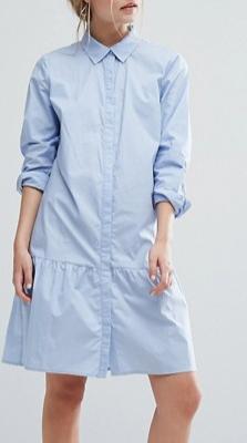 Gestuz Inesa Dress Frill Hem Shirt Dress