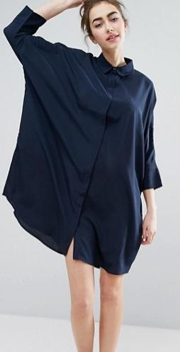 Monki Relaxed Shirt Dress