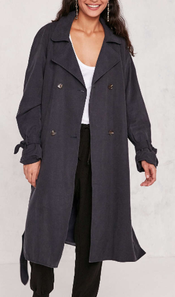 Kimchi Blue Clemmie Trench Coat