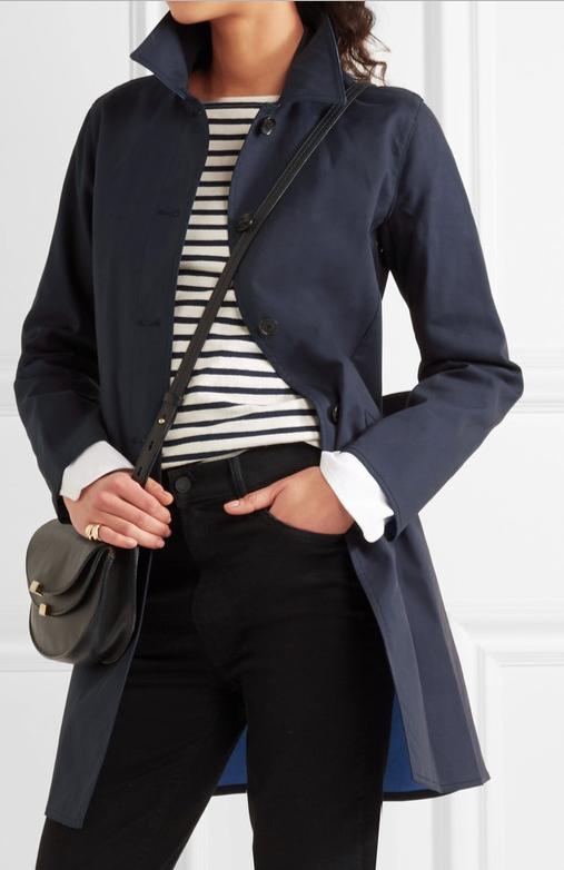 MICHAEL MICHAEL KORS Cotton-twill trench coat