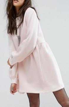 Rokoko Oversized Smock Sweat Dress