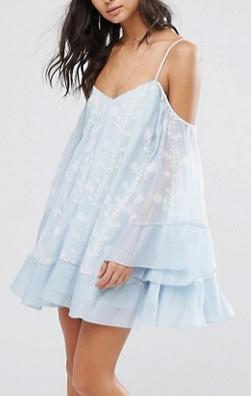 Stevie May Morning Haze Mini Dress