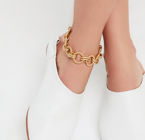 FP Chain Link Metal Anklet