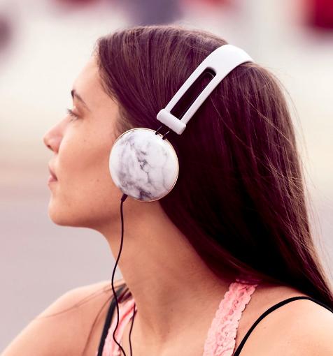 Ankit Noise Isolating Printed Headphones