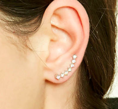 Forever 21 Faux Gem Ear Pins