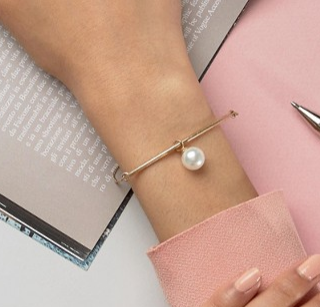 Selected Femme Pearl Bracelet