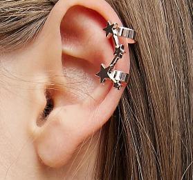 ASOS Pack of 3 Star Ear Cuffs