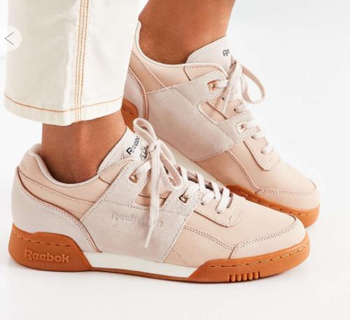 Reebok Workout Lo Plus Golden Sneaker