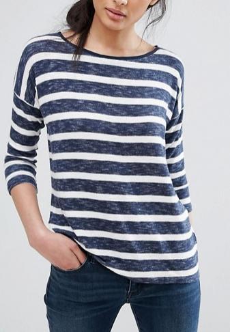 Oasis Long Sleeve Stripe T-Shirt