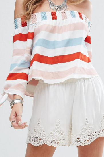 Lovers + Friends Dream Lover Off the Shoulder Top