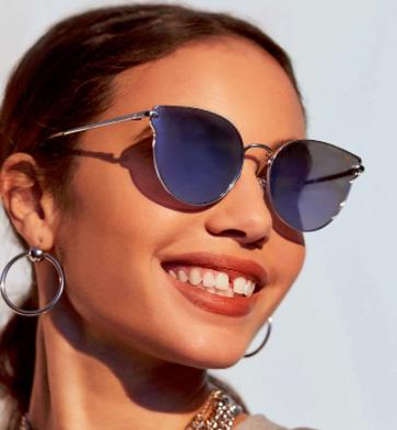 Forever 21 MELT Flat Cateye Sunglasses