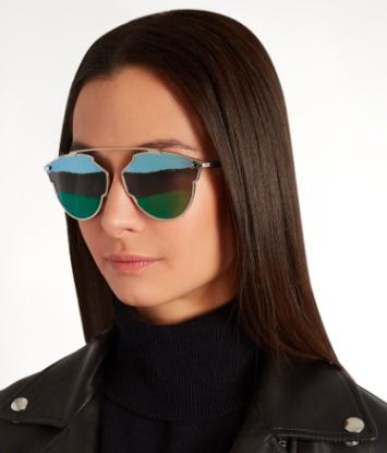 DIOR  So Real tri-colour sunglasses