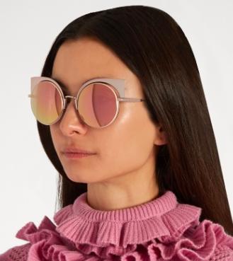 FENDI  Eyeshine cat-eye sunglasses