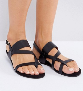 Monki Gladiator Strappy Sandals