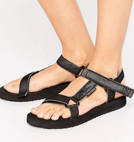 Vero Moda Side Buckle Sandals