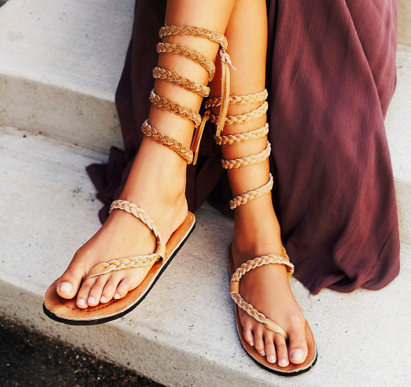 FP Braided Sandal